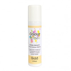 Spray do dekorowania COLOUR SPLASH - METALIC GOLD