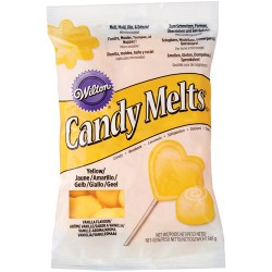 WILTON CANDY MELTS dropsy - ŻÓŁTY