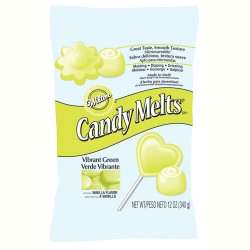 WILTON CANDY MELTS dropsy -  LIMONKA