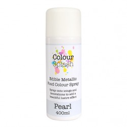 Spray do dekorowania COLOUR SPLASH - SREBRNY 400 ml